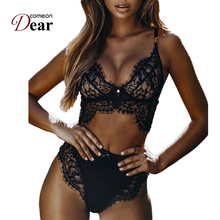 Buy Comeondear Sexy Lingerie Set Sous Vetement Femme Bra Panty Set China Lingerie Wholesalers RB80506 Transparent Panties Sets