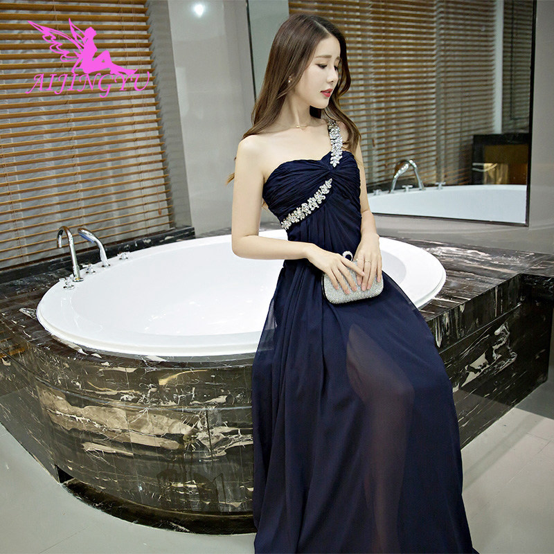 AIJINGYU Evening Gown Dress Party 2018 Women Elegant Formal Sexy Special Occasion Dresses Fashion Gowns FS574