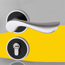 Wave Style Lever Handle Passage Hall and Closet Leverset Lockset with Keys