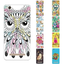 Buy 5.0 inch Phone Case Xiaomi Redmi 4a Cover Transparent Ultra Thin Redmi 4A Shell Silicon Owl Pattern Fundas for $1.99 in AliExpress store
