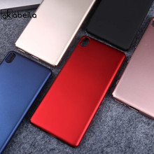 Rubber Hard Plastic Case For SONY Xperia XA F3111 F3113 F3115 F3112 5.0 inch Case Mobile Phone Cover Oil-coated Matte Shell
