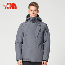 Intersport The North Face new autumn and winter waterproof outdoor ski mountaineering men's warm cotton jacket(China)