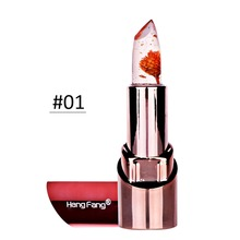 3 Styles Makeup Long Lasting Moisturizing Lipstick Flower Color Jelly Temperature Change Lipstick Lip Balm