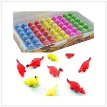 60 Pcs/Set Multi-Color Hatching Growing Dinosaur Egg Add Water Eggs Grow Dino Magic Funny Toys for Children Kids Gift Gag Toy
