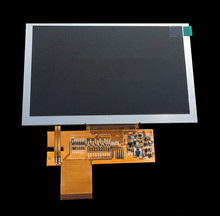 BI50WV004-WOT 5 inch LCD screen RGB interface TFT screen 800x480 ( without touch)