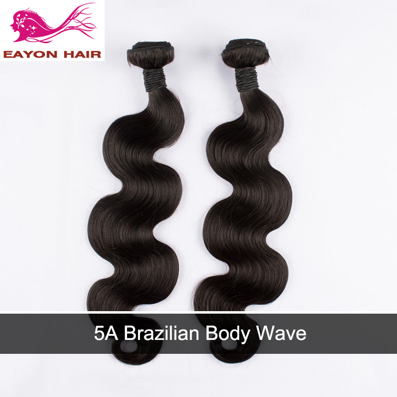 Eayon Hair Products 5A Brazilian Virgin Hair Body Wave 2pcs Unprocessed Virgin Human Hair Extension Weave Bundles Promotion<br><br>Aliexpress