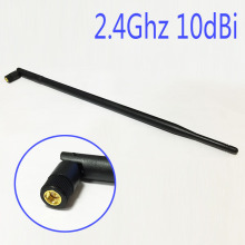 Wifi Antenna 2.4Ghz 10dbi high gain with Omni directional SMA male connector NEW Wholesale hf antenna(China)