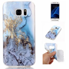 For Samsung Galaxy S7 case Marble Texture Durable Soft Slim TPU Silicone Rubber Cellphone Case For Samsung Galaxy S7 Edge G9350
