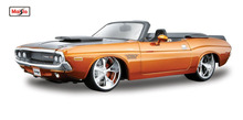 Maisto 1:24 1970 Dodge Challenger R/T Convertible Diecast Model Car Toy New In Box Free Shipping