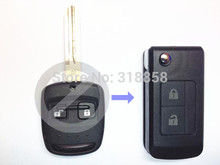 REPLACEMENT Modified Folding Remote Key Shell Keyless Entry Case Fob 2 Button For Subaru Outback Legacy Forester
