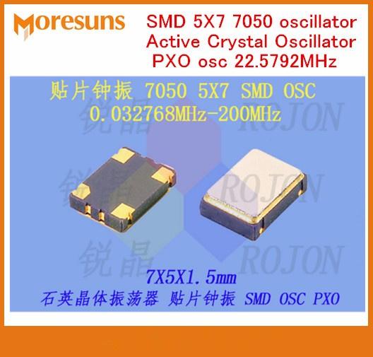 5pcs 4.9152 MHz//4.9152 MHz 4.9152 M Crystal Oscillator osc DIP 14