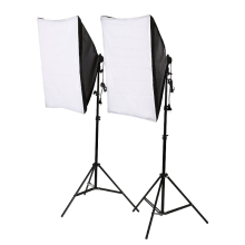 2*135W single lamp softbox photo light softbox set photographic equipment Photo Studio light stand kit tripod kit
