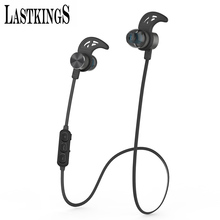 Lastkings bluetooth earphone magnetic wireless headset for phone Noise Cancelling with Mic Microphone sport waterproof