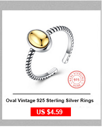 Solid 925 Sterling Silver Rings Vine Wave Pattern 8.5mm Width Vintage Rings For Women Wedding Silver Jewelry 2017 New (RI102786)
