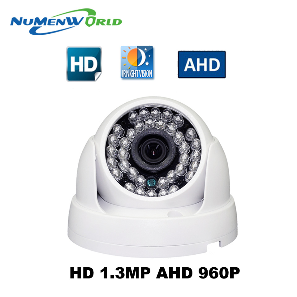 AHD High Definition Surveillance Camera 1/3 CMOS 1.3MP 960P AHD CCTV system Camera Security IR Cut Filter<br>