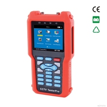 CCTV monitor testers CVBS signal cable tester tracker with multi-system color bar video generator NOYAFA NF-708(China)