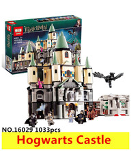 1033Pcs 16029 Model building kit compatible with lego 5378 Harry Potter Bricks Magic Hogwort Castle 3D blocks model building toy