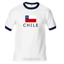 Chile men t shirts Chilean jerseys CL nation 100% cotton t-shirt meeting fitness brand clothing tees flag Chilean ringer Tee