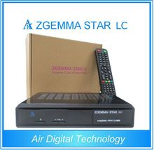 20pcs/lot Original Cable Receiver zgemma-star LC with one DVB-C cable tuner Enigma2 Linux HD Cable TV Receiver