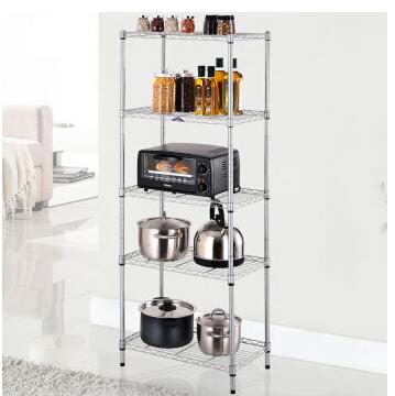 wire shelving unit storage rack metal kitchen shelf stainless steel rh aliexpress com Kitchen Wire Shelving Units Kitchen Wood Shelving Units