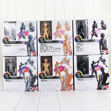 6Style Archetype He Archetype She Ferrite SHFiguarts BODY KUN / BODY CHAN PVC Action Figure Collectible Model Toy(China)