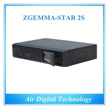 10 pcs/lot HD DVB S2 DVB S with IPTV box twin tuner satellite receiver free to air no dish Zgemma-star 2S