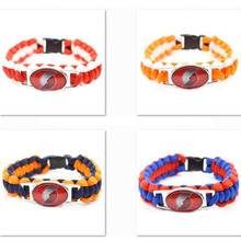 2017 New Basketball Bracelet Portland Trail Blazers Charm Braided Bracelet for Men Women  Sport Bracelet Jewelry Gifts