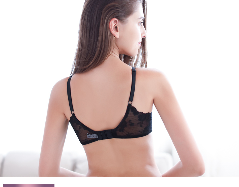 PAERLAN Brand Back Closure Type Seamless Push Up Bra 12