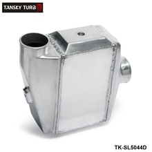 "TANSKY-Turbo Water to Air Intercooler - 13.3""x12""X4.5"" Inlet/Outlet: 3"" Front Mount Aluminum Turbo Intercooler TK-SL5044D"