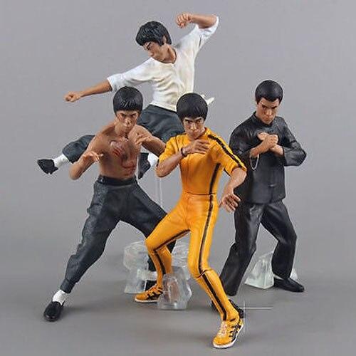 4PCS Bandai Bruce Lee Kung Fu Master Legend Figures<br><br>Aliexpress