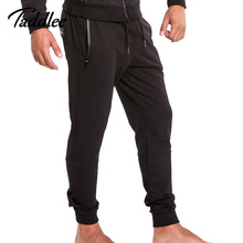 Buy Taddlee Brand Mens Jogger Black Legging Pants Casual Fitness Trousers Basic Active Slim Fit Bottom Skinny Man Workout Sweatpants for $25.99 in AliExpress store