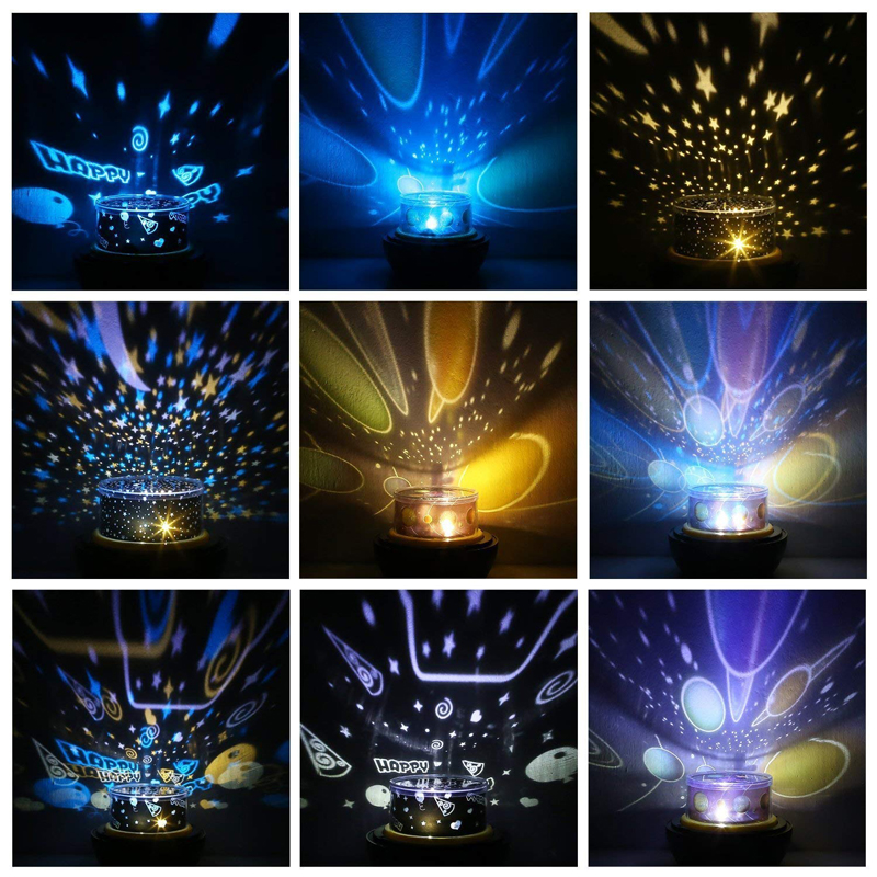 LED Star Master Night Lights Starry Sky Magic Planet Projector Lamp Cosmos Universe Luminaria Baby Nursery Holiday Birthday Gift (5)