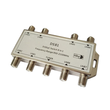 GST-8101 8 in 1 Satellite Signal DiSEqC Switch LNB Receiver Multiswitch Wholesale(China)