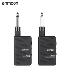 Hot Sale ammoon WS-10 Digital 2.4Ghz Audio Wireless Electric Guitar Transmitter Receiver Set High Quality Guitar Parts