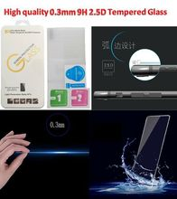 No.162 Luxury Homtom HT50 glass tempered Film Screen Protector 9H Explosion Proof Scren For Homtom HT50 Mobile Phone