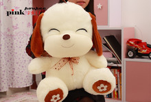 Freeshipping Christmas gift the dog plush doll soft toys wholesale and retails factory supply 60cm size