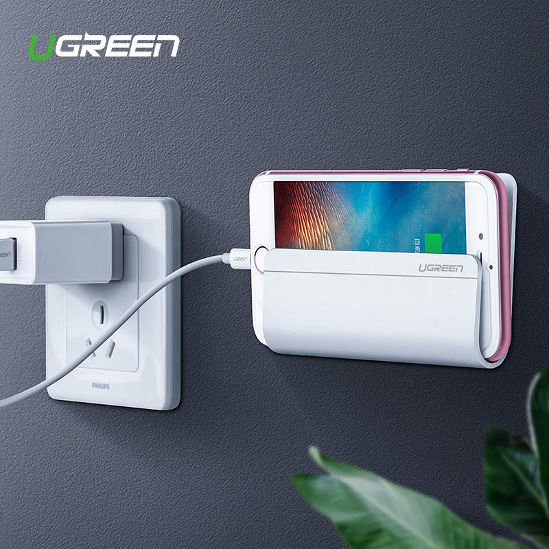 Ugreen Mobile Phone Holder Stand For iPhone X 8 7 6 Wall Mount Holder Adhesive Stand