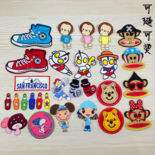 Factory outlets cartoon animal cloth affixed decorative clothing patch badges can be sewn to iron a variety of optional(China)