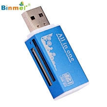 Binmer Memory Card Reader USB 2.0 All in 1 Multi For Micro SD SDHC TF M2 MMC Jan 13 MotherLander