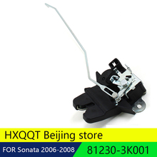 Натуральная крышка багажника замок привод подходит 2006-2008 для Hyundai sonata oem 81230-3K001 812303K001 81230 3K001(China)