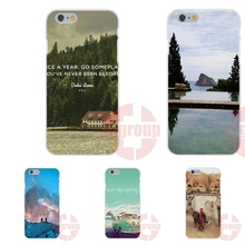 Soft TPU Silicon Case Coque Cover For Huawei Mate 7 8 9 P7 P8 P9 Lite Plus never stop exploring lamas on holidays