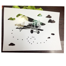 Aircraft Cloud Scrapbooking tool DIY album masking spray painted template drawing stencil laser cut template AP7050265