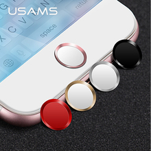 Buy USAMS Aluminum Touch ID Home button Sticker iPad,support Fingerprint Unlock Touch iPhone 8/8 plus7/7 plus/6/6s plus/5/se for $1.94 in AliExpress store