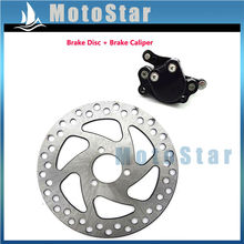 Rear Disc Brake Caliper Brake Dise Rotor For 2 Stroke Minimoto 47cc 49cc Pocket Bike Minimoto Scooter Dirt Bike ATV Quad