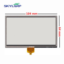 "skylarpu New 4.3"" 4 wire Resistance Touch panel for TomTom XL 4ET03 Touch screen digitizer panel replacement Free shipping(China)"