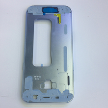 Original Middle Frame Bezel Housing Cover Chassis with Small Parts for Samsung Galaxy A520 A5 2017 Version Replacement(China)