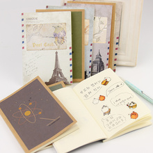 1 PC New Arrival Cute Youth Dreams and The Exotic Hand Painted Retro Book Notebook School Office Supplies Stationery