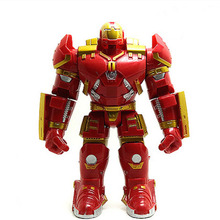 Marvel The Avengers Iron Man Removable PVC Action Figure Collection Model Toy for Children Gift(China)