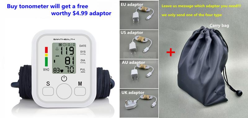 جهاز الرعاية الصحية المنزلية لقياس ضغط الدم ورصد ضربات القلب 1