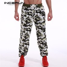 INCERUN Camouflage Sweatpants 2017 Spring Mens Joggers Army Military Camo Print Trousers Sweats Pants Men Male Tracksuit Bottoms(China)